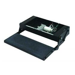 Lippert Components 353542 24 In. Single Treadlite Power Rv Step With Switch And Ha
