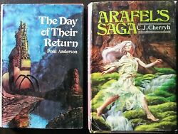 The Day Of Their Return And Arafel's Saga Hardcover Vintage Books W/ Dust Jackets