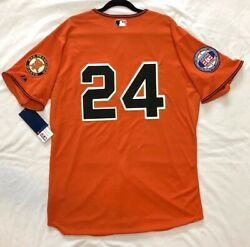 Authentic Majestic 56 3xl San Francisco Giants W. Mays Coolbase On Field Jersey
