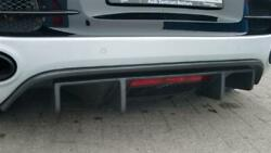 Fits Audi R8 Real Carbon Matte Cover Rear Diffuser Gt Style Coupe Spy