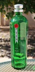 Large Big 18 Tanqueray No.10 Gin Bar Display Promotional Green Empty Bottle Nos