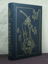 Signed By 2 Author,fred Pohl Intro, Kampus By James Gunn, Easton Press