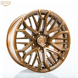 Fits 09+ Ford F-150 And Raptor 20 Bronze Venomrex Vr-603 Flow Forged Wheels 4 Pcs