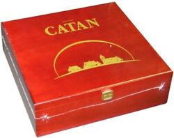 1x Catan 15th Anniversary Collector's Wood Edition Brand New Board Games