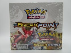 Xy Breakpoint Brand New Sealed Booster Box Of Pokemon Cards 36 Packs