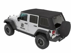 Soft Top For 07-18 Jeep Wrangler Jk Unlimited X Sahara Rubicon Sport 70th Bc31z8