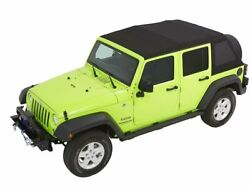 Soft Top For 07-18 Jeep Wrangler Jk Unlimited Sahara X Rubicon Sport 70th Gg49x2