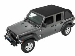 Soft Top For 18-21 Jeep Wrangler Unlimited Rubicon Sport S Sahara Moab Fh77b8