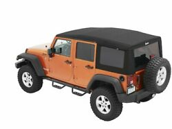 Soft Top For 07-18 Jeep Wrangler Jk Unlimited Rubicon X Sahara Sport 70th Zp91t5