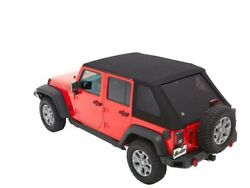 Soft Top For 07-18 Jeep Wrangler Jk Unlimited Rubicon Sahara X Sport 70th Hc11f7