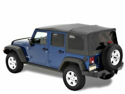 Soft Top For 07-18 Jeep Wrangler Jk Unlimited Rubicon Sahara X Sport 70th Jt59f6
