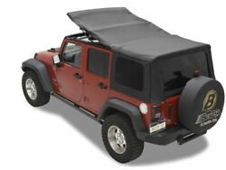 Soft Top For 07-09 Jeep Wrangler Unlimited Rubicon Sahara X Ms21v7