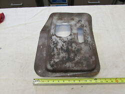 1950and039s 1960and039s Chevy Gmc Pickup Suburban Transmission Tunnel Cover