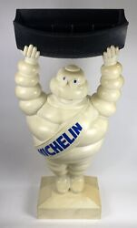 Extremely Rare Michelin Man Store Display Brochure Holder C. 1960 - 4ft 7in
