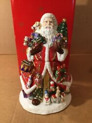 Rare And Retired Christopher Radko Kris Kringle Candy Jar In Excellent Condition