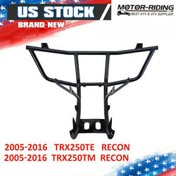 2016 For Honda Recon Trx250 Front Bumper Grill Guard Front Rack Support 2007-15