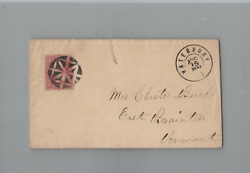 Edsroom-j6 Us Sc65 On Choice Small Cover Famous Waterbury Fancy Cancel Pf Cert