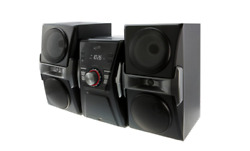 Home Music System Sound With Fm Tuner And Led Lights Cd Player W/ Led
