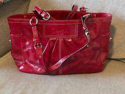 Red Coach Purse Lightly Used Great Condition $54.00