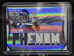 2012 Panini Limited Russell Wilson Rookie Auto 48/49 Silver Patch Phenom Rc Rpa