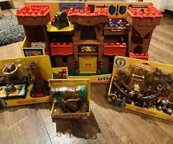 2012 Fisher-price Eagle Talon Castle 🏰 W Tons Of Accessories New Imaginext