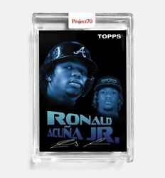 Project70 Card 4 - 1954 Ronald Acuna Jr By Snoop Dogg - Presale Topps Project 70