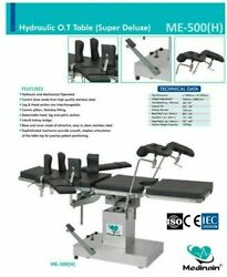 New Me -500 H Hydraulic Detachable Head Ot Table Surgical Operation Theater