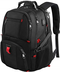 Travel Backpacks for Men Extra Large College School Laptop Bookbags with USB 17 $38.07