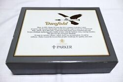 Limited Box Edition Parker Uk Duofold Centennial Marble Blue Fountain Pen