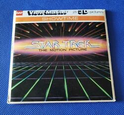 Color K57 Star Trek The Motion Picture Shatner Movie View-master Reels Packet