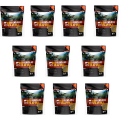 10x Malaysian Military Mre Food Meal Ration Survival Emergency Beefrendang+rice