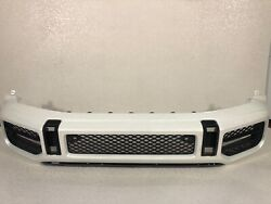Mercedes Benz G63 Front Bumper Oem Factory 2019/2020 With Grills
