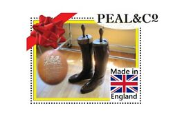 Antique Peal And Co Equestrian Boots Men's Bespoke Riding For British Royalty