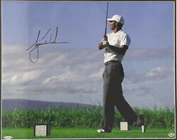 Tiger Woods Signed Autographed Photo 20x16 Uda Le 1/1
