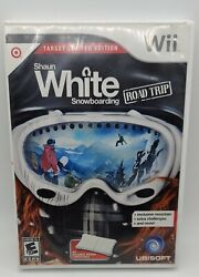 Shaun White Snowboarding Road Trip Wii Balance Board Compatible Game Complete