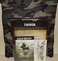 Call Of Duty 4 Modern Warfare Boot Camp - Special Media Event Press Kit Swag Bag