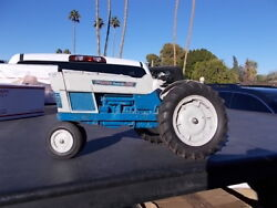 Rare Played With Hubley Ford 6000 Farm Toy Tractor N/f 3 Point 1/12th Scale