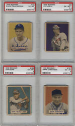 1949 Bowman Baseball All Cards Psa Graded Pick Your Card Ml4