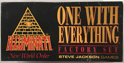 Inwo One With Everything Illuminati Collectible Card Game Factory Set Sealed
