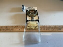 Vintage Meiser Accu-gage Precision Metal Tire Gauge Collectible Gas Oil Tool