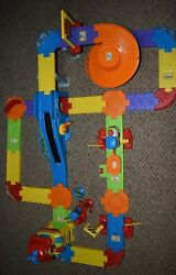 Vtech Go Go Smart Wheels Train Station Playset Complete With Train Works Great