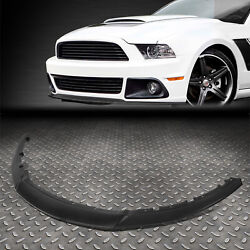 For 13-14 Ford Mustang Rp Style Front Lower Bumper Lip Spoiler Wing Body Kit