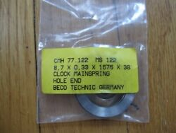 Singing Bird Box Mainspring Hole End Clock Parts And Repair Germany Beco Technic