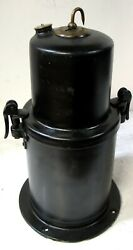 1913-14 And Early 1915 Carbide Acetylene Generator Tank Off Model T Ford Nos