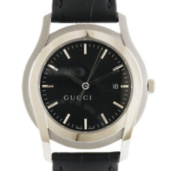 Watches 5500xl Silver Black Stainless Steel Leather G Class From Japan