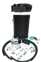 Gearhead Mini Air Conditioning Ac Heat Defrost Kit W/ Compressor Fittings Hoses