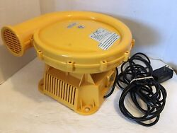 Pre-owned/usedyellow Bounce/inflatable Blower Fan/air Pumpmodel No. Fj-30w
