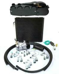 Gearhead Super Ac Heat Defrost Air Conditioning Kit W/ Fittings Compressor Hoses
