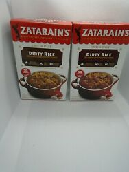 Zatarain's One Pot Dirty Rice Long Grain Mix With Vegetables And Spices 2 Boxes