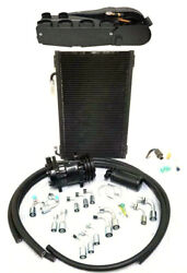Gearhead Super Ac Heat Defrost Air Conditioning Kit + Fittings Compressor Hoses